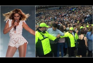 People started 'scrapping' at Beyonce's Glasgow gig