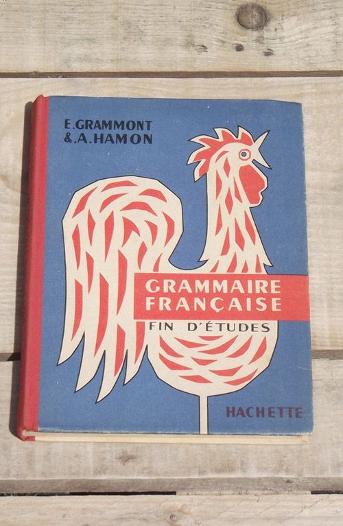 vintage French school book. French School Series