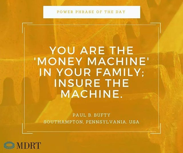 You Are The Money Machine In Your Family Insure The Machine