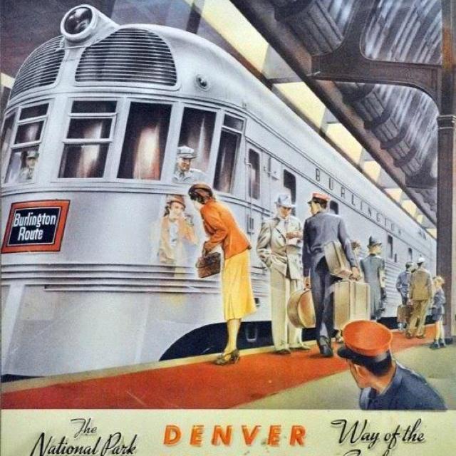 Denver Zephyrs: 1000+ Images About Railroads-Chicago Burlington & Quincy