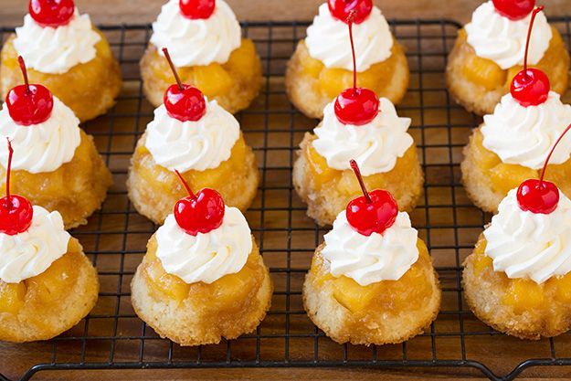 Pineapple Upside Down Cupcakes FoodBlogs.com