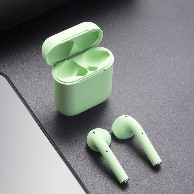 Green Earpods Earbuds Wireless Earbuds Wireless Earphones