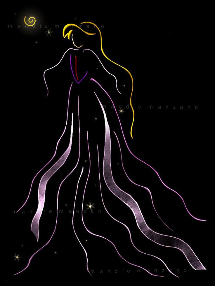 Ribbon Art ~ Eilonwy ♊️ (Credit: Mandie Manzano @deviantART)