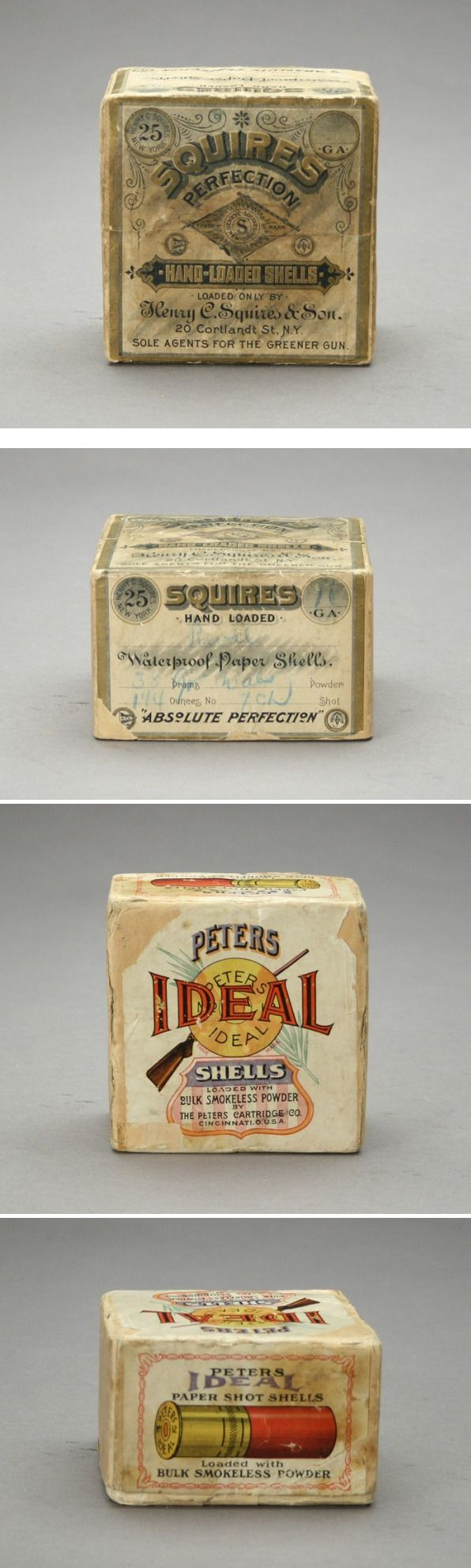 #vintage Shell Boxes