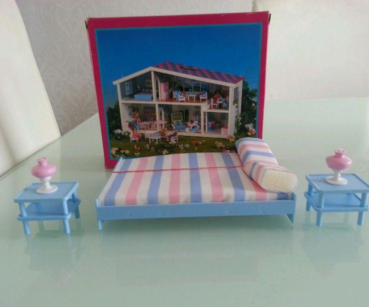 Lundby Caroline home doll miniture bedroom furniture vintage   eBay. 138 best Caroline s Home Dolls House Furniture images on Pinterest