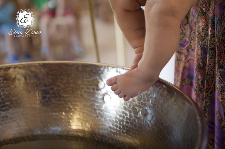 Orthodox Christening details by Eleni Dona