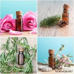 Olejki eteryczne i naturalne oleje roślinne do masażu, kąpieli i domowych kosmetyków   Kosmetyka 4 U