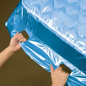 Bags you can buy from UHaul to keep your mattresses clean during the move.