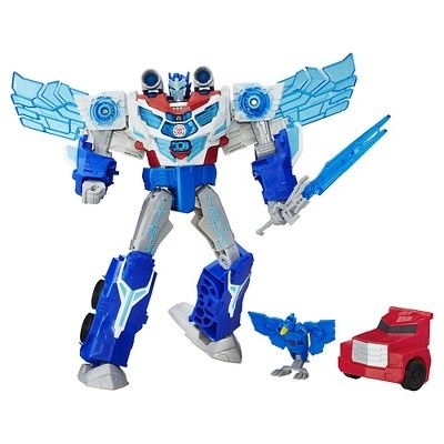 Transformers: Robots in Disguise Power Surge Optimus Prime and Aerobolt : Target