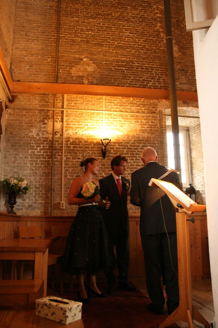 Yes I do! Wedding location on the island Terschelling in the lighthouse the Brandaris, The Netherlands