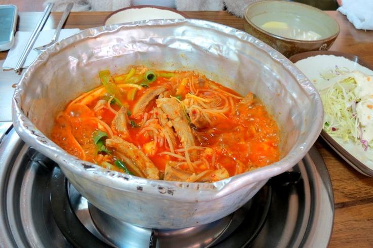Spicy pork ribs soup, Ulsan, South Korea