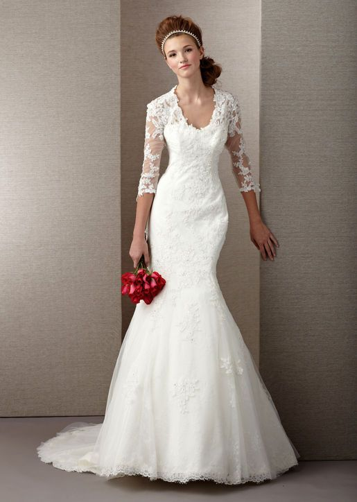 by alyce paris wedding dress love the sleeves wedding dresses