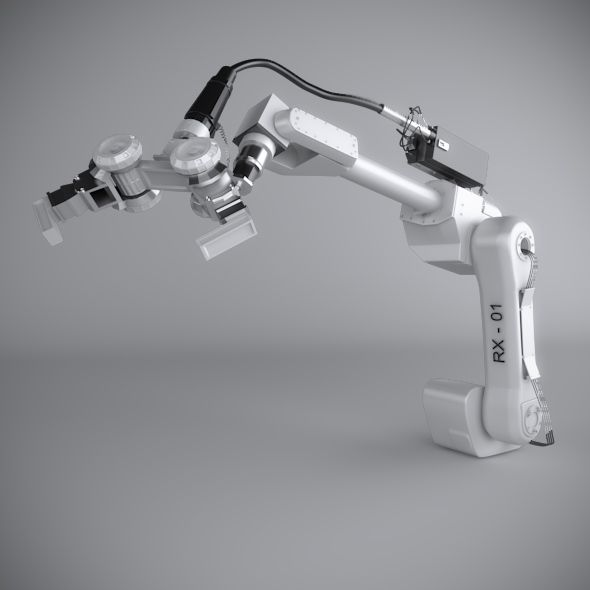 Robotic arms are predominantly used in manufacturing industries to replace humans. What are the types of robots?