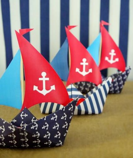 Nautical Themed Birthday-Favors