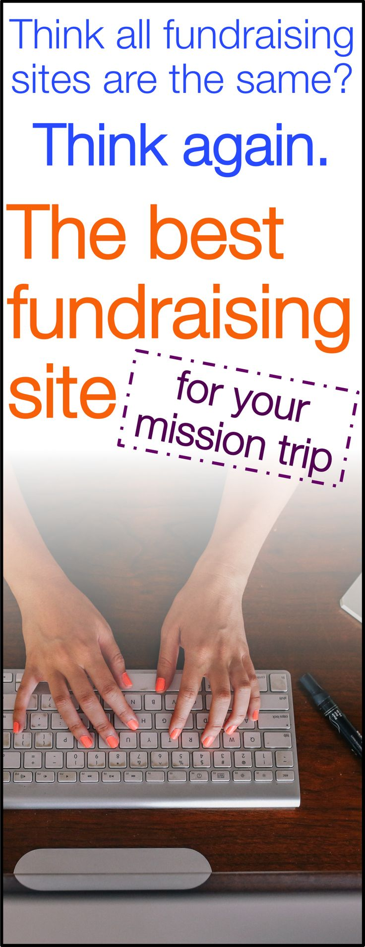 Do you know which online fundraising site is best for mission trip donations? This small decision can make a big difference.