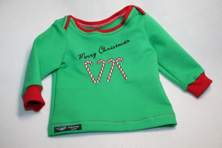 Langarmshirts - Weihnachtspulli Merry Christmas - ein Designerstück von Kolle86 bei DaWanda