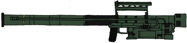 FIM-92 Stinger Missile Launcher