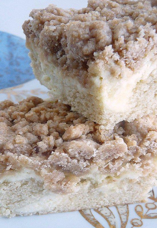 Cream Cheese Crumb Cake