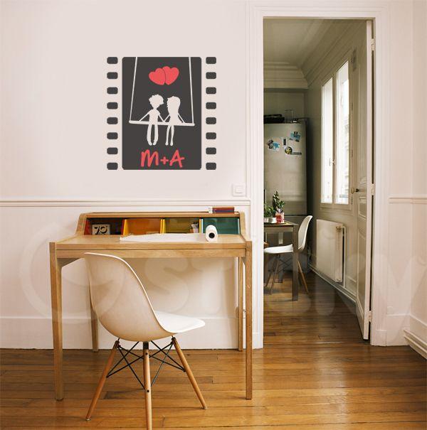 Wall Sticker ROMANCE FILM by Sticky!!!