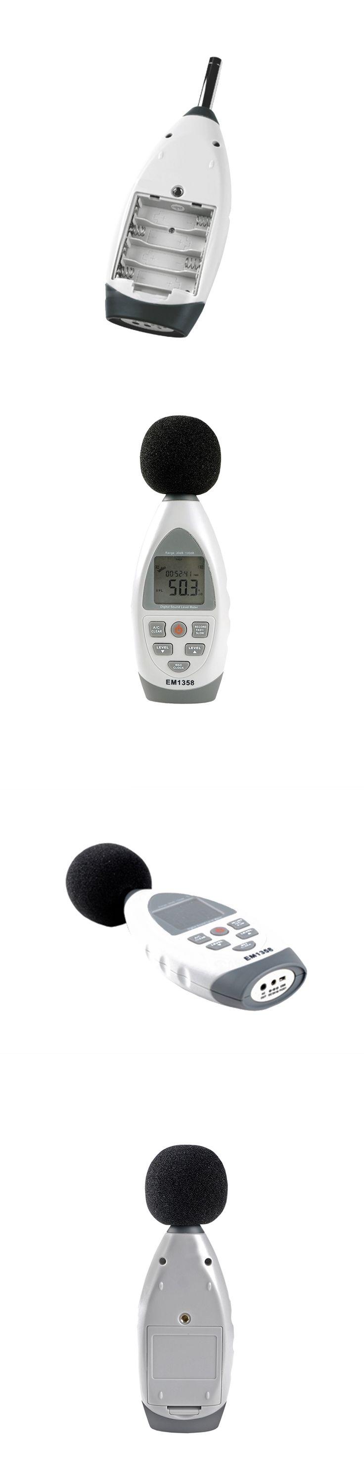 LCD Backlight Digital Professional USB Sound Level Meter Noise Tester Noise Measuring Instrument Decibel Tester 35-130dBA