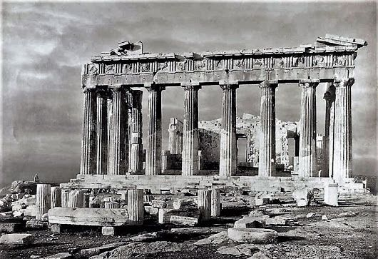 the iconic Parthenon on the citadel of the Acropolis