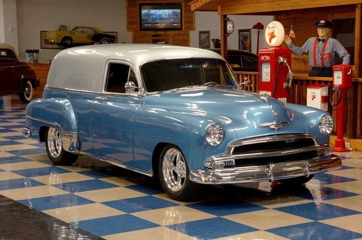 #chevrolet #klassischeautos #lieferung #limousine 1951 Chevrolet Limousine Liefe…
