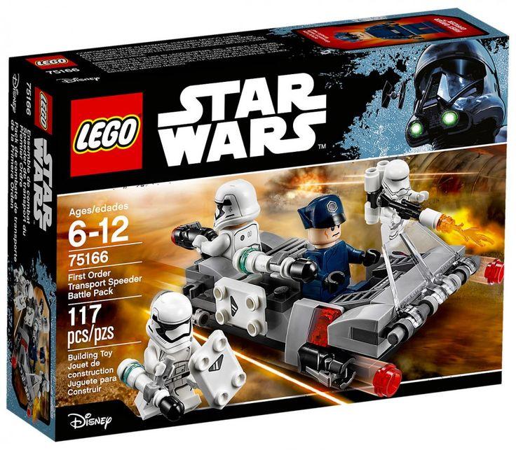 LEGO Star Wars 75166 : Pack de combat le Speeder de transport du Premier Ordre - Juin 2017