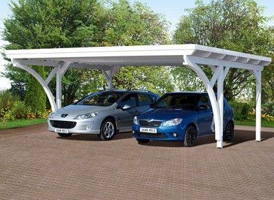 25 best ideas about double carport on pinterest - Carrelage pour garage voiture ...