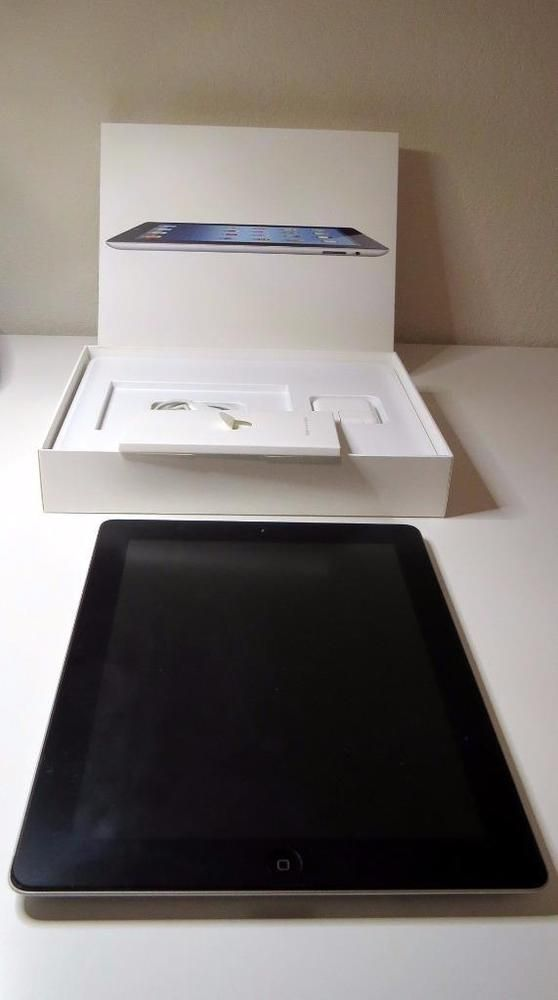 Apple iPad WiFi 32GB Black Model A1416 MC706LL/A 3rd Gen Excel Cond with Cover #Apple