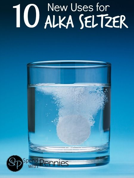 10 New Uses for Alka Seltzer!  (Perfect for making your toilet bowl sparkle!)