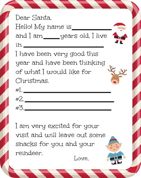 It's getting to be that time of year when the little ones take time to sit down and write a letter to Santa. What do your little ones have on their wish list this year? For a fun holiday project we havethisFree Printable Santa Letterthat makes it easy for little ones to fill in …