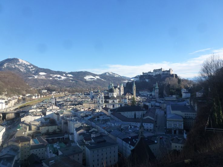 Salzburg Stadt city austria