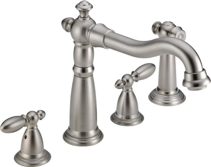 View the Delta 2256-DST Victorian Kitchen Faucet with Side Spray - Includes Lifetime Warranty at FaucetDirect.com.