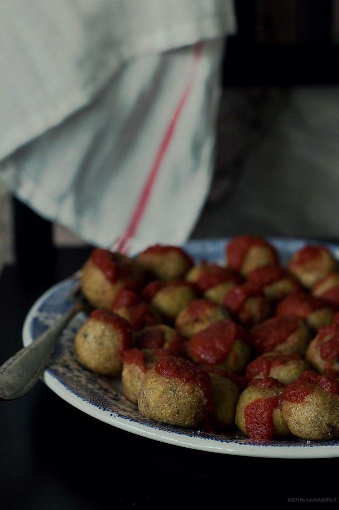 Polpettine vegetali di miglio e ceci on http://www.unavnelpiatto.it