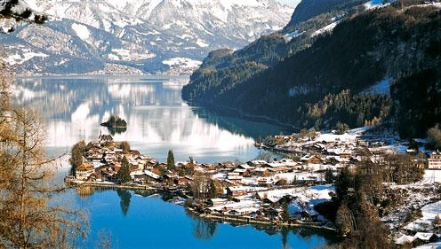 Nothing like the Swiss Alps.  Oh how I want a ski vacation there.