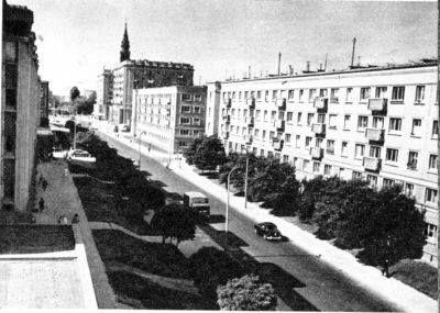 Warszawa, Nowolipki, dwudziestolecie międzywojenne