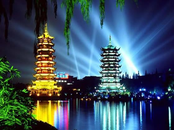 Sun & moon pagoda