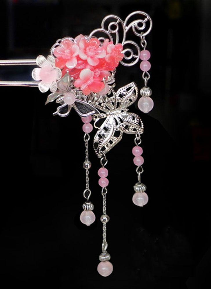 Hot Chinese Classical Princess Empress Ladies Hairpin Hair Clip Combs Step Shake | eBay