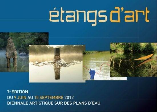 Les Etangs d'Art en Brocéliande, à découvrir tout l'été. Le plus de cet été : une animation géocaching liée aux oeuvres d'art !