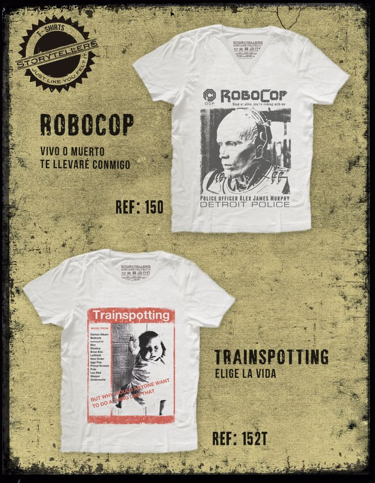 Robocop, Trainspotting