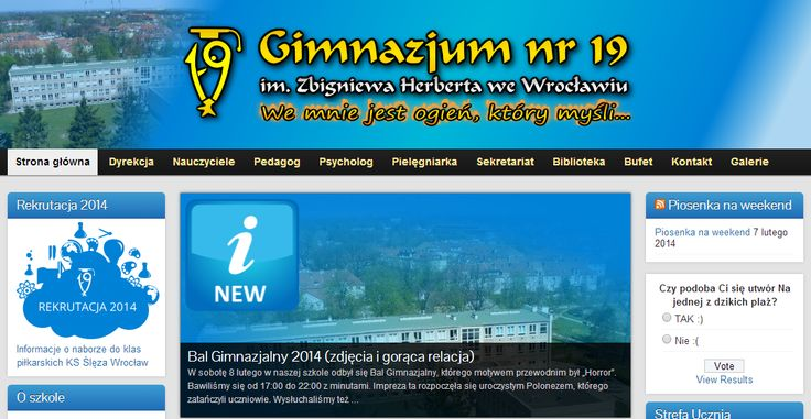 Gimnazjum Nr 19 im. Z. Herberta we Wrocławiu dołącza do grona szkół eksperckich.