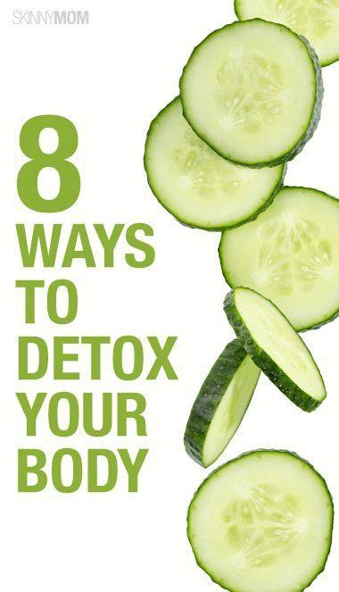 8 Ways To Detox Your Body