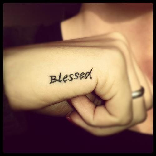 Amen. Great spot, great font. Hand tattoos are tricky but if cared for correctly this one might last.