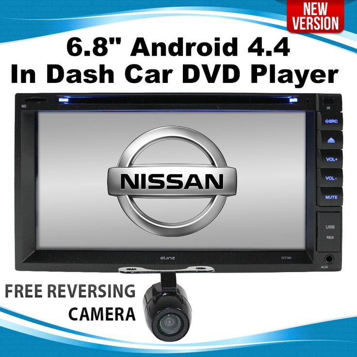 Nissan Android 4.4 In Dash Car DVD Player 2 DIN GPS 3G WIFI TIIDA X-TRAIL Patrol