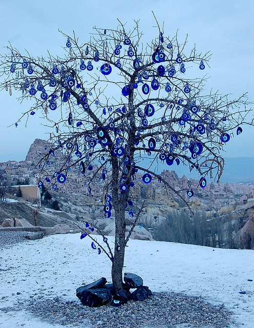 Evil Eye tree by Curious Expeditions, via Flickr