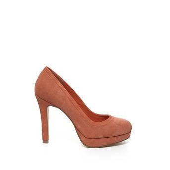 Invito - oranje pumps #hogehakken #highheels