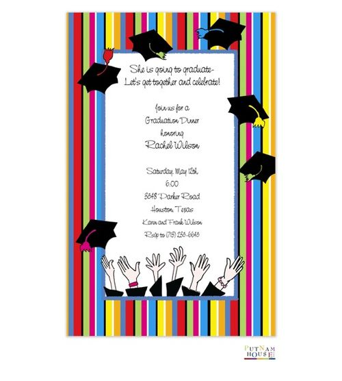 Personalized graduation invitations from rockpaperscissors graduation ideas pinterest for Graduation announcements pinterest