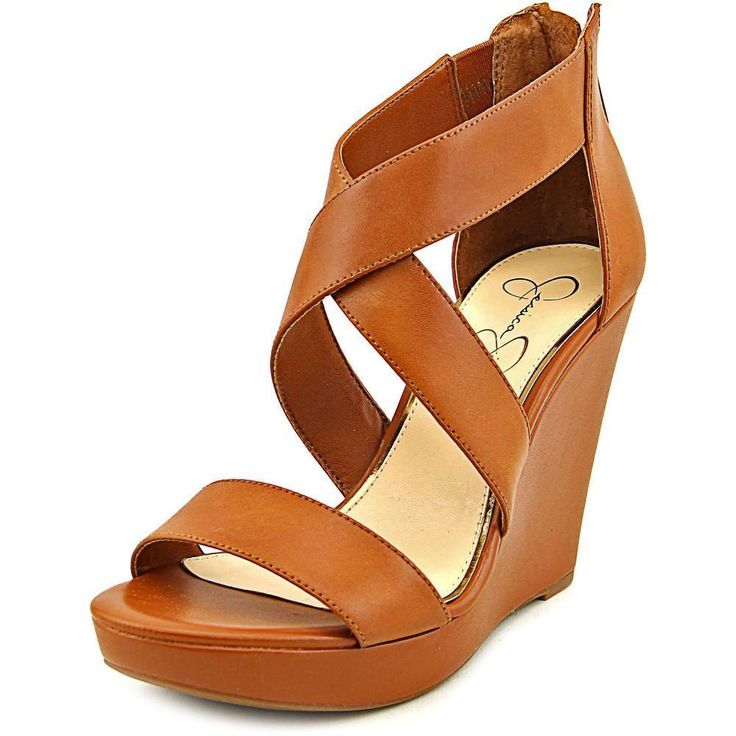 Complete your footwear collection with the addition of these 'Jinxxi' faux leather sandals. You'll be positively radiant in the beautiful Jessica Simpson Jinxxi sandals. The chic Faux Leather upper si
