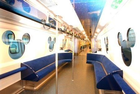 Mickey Mouse train of HongKong Disneyland