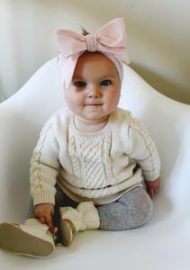Oversized Bow DIY Baby Headband free pattern